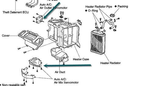 heater and fan in one toyota sienna questions air on the left not always