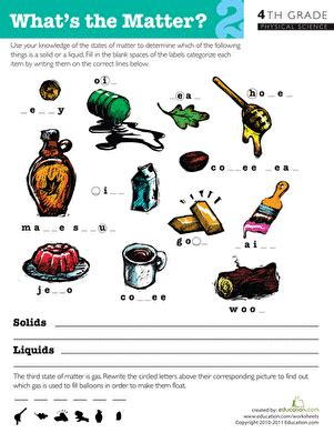 what s the matter 2 worksheet education