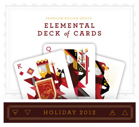Elemental Deck List 2014 by Elemental Deck Of Cards Paragon Design
