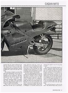 Cagiva Mito 125   Cagiva Mito Mk1 Mk2 Magazine Article