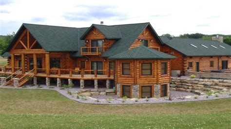 luxury custom home plans log cabin mansion kitchens