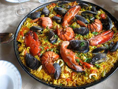 cuisine paella seafood recipes gourmet seafood paella recipe