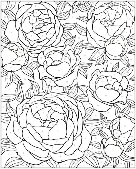 color by numbers design color and dover publications on