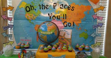 Oh The Places You Ll Go Decorations - oh the places you ll go ideas