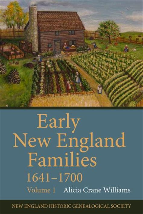 early  england families   volume