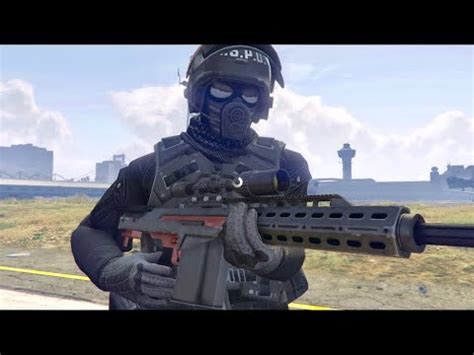 Gta 5 online | NEW Doomsday OUTFIT SWAT | heist dlc - YouTube