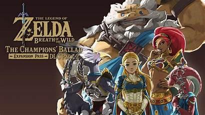 Breath Zelda Wild Dlc Legend Pack Champions