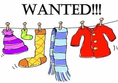 Winter Clothing Clipart Drive Coat Donation Transparent