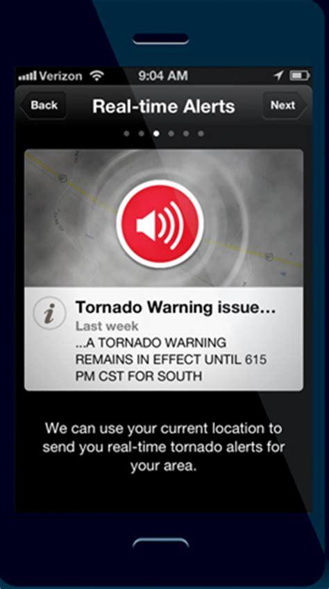 red cross offers tornado alert app radio iowa
