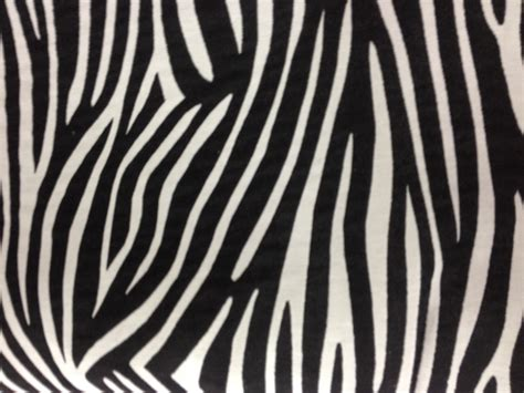 refection siege tissus zèbre noir et blanc en 140cm de large tissus
