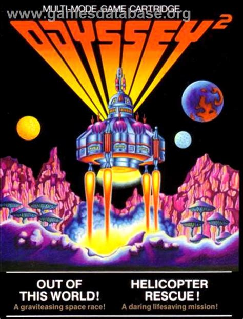 Magnavox Odyssey game covers