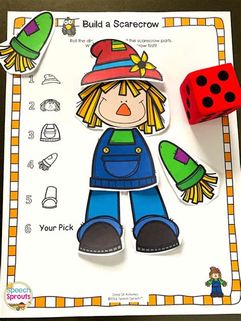 speech sprouts preschool slp this is the materials list 632 | SK%2BScarecrow%2BGame