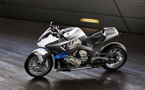Bmw Motorrad Concept 6 Widescreen Exotic Bike Wallpapers