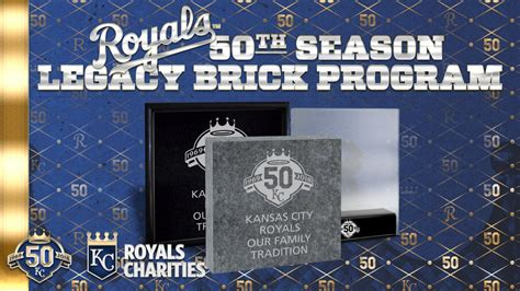 Royals Charities Legacy Brick Program Returns