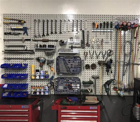tool hanging plate wall steam repair tool rack square hole plate hook multi functional hole