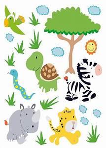 Wandtattoo Kinderzimmer Dschungel : wandtattoo dschungel den regenwald im wohn oder kinderzimmer ~ Orissabook.com Haus und Dekorationen