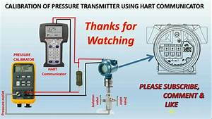 How To Calibrate A Pressure Transmitter Using Hart