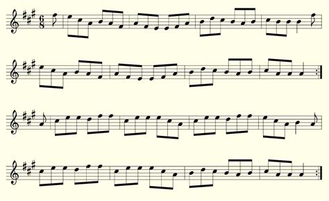 sheets of tin flute tunes