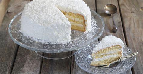 recette layer cake moelleux  la noix de coco en pas  pas