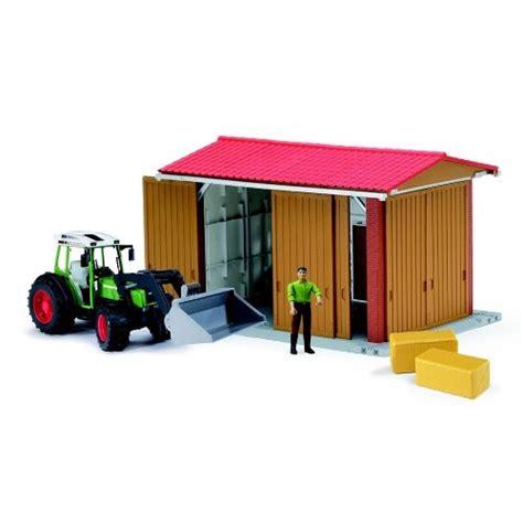 bruder farm bruder bworld farm tractor shed building playset