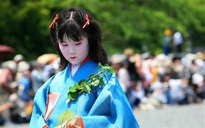 Japanese Traditional Kun Geisha Domo Maiko