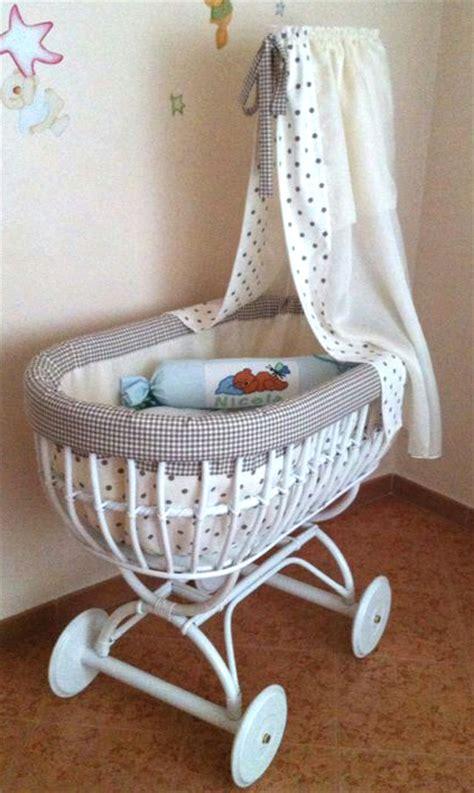 paracolpi per vimini culle e lettini per neonato in vimini e rattan
