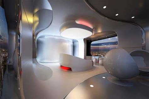 futuristic bedroom design  luxury penthouse design
