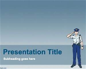 free police powerpoint template With law enforcement powerpoint templates free