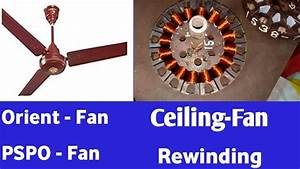 Ceiling Fan Coil Winding Data Easy At Home Orient Pspo
