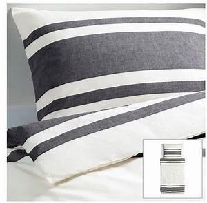 Ikea Bettwäsche 140x200 : sch ne bettw sche aus baumwolle schwarz 140x200 von ikea bettw sche ~ Orissabook.com Haus und Dekorationen