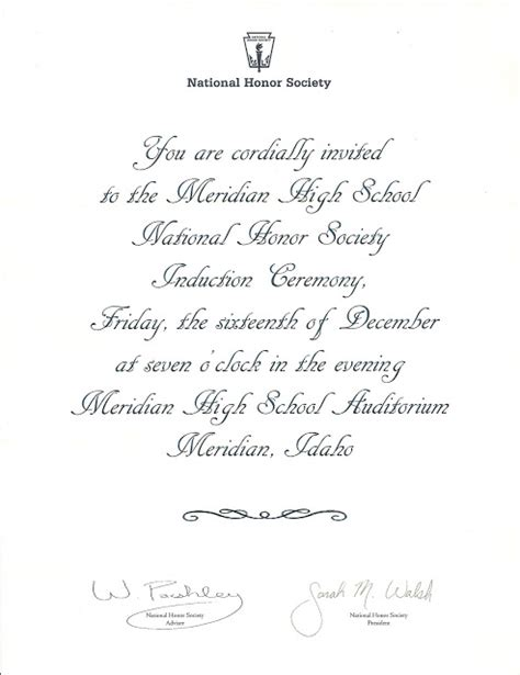 37 National Honor Society Certificate Template, National