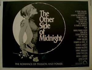 The Other Side of Midnight   Half Sheet   Movie Posters ...