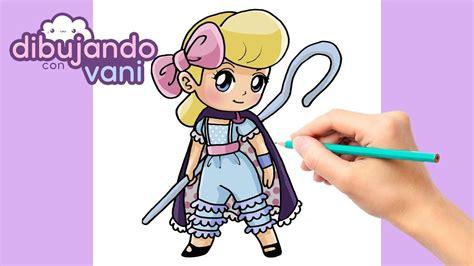 como dibujar betty de toy story kawaii dibujos imagenes
