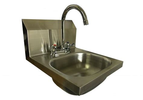 L Shaped Wall Mouned Lever Tap Stainless Steel Hand Wash