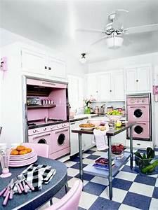 Retro kitchen design ideas for Retro kitchen decor ideas