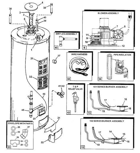 electric hot water heater parts diagram automotive parts