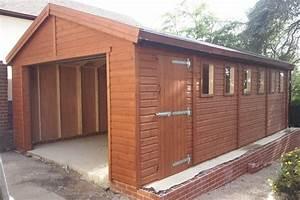 20x10 single timber garage with optional electric roller door for 20x10 garage door