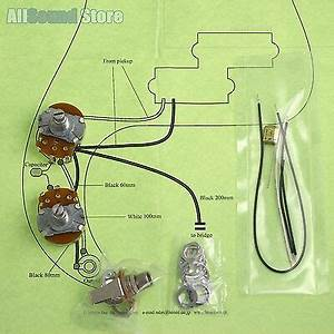 Wiring Kit For Import Fender Precision P