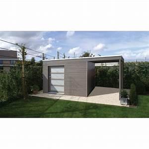 Abri De Jardin Toit Plat : brise vue bois abri de jardin toit plat au design ~ Dailycaller-alerts.com Idées de Décoration