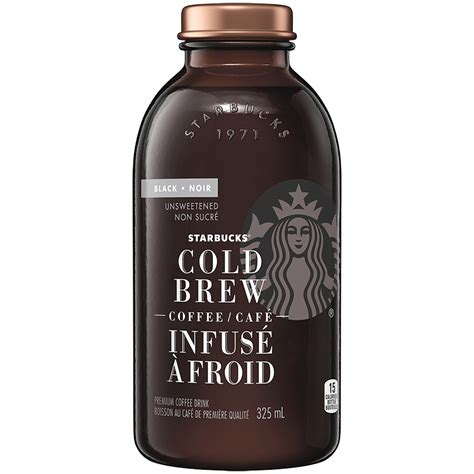 The new strawberry cold brew combines the caffeine punch of iced coffee with the subtly sweet flavors of white mocha and raspberry. Starbucks Cold Brew Coffee - 325ml   London Drugs
