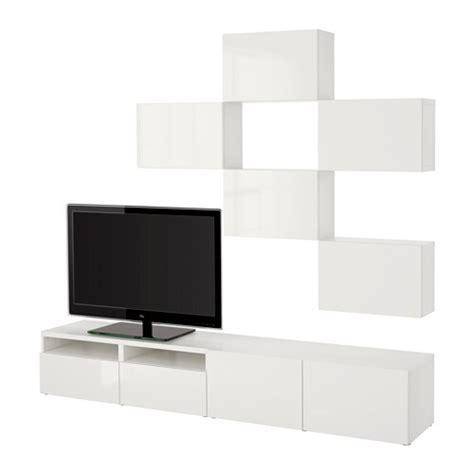 Ikea Lade Parete by Best 197 Tv Meubel Combi Wit Selsviken Hoogglans Wit