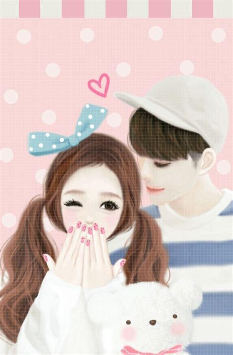 foto anime korea romantis koleksi gambar gambar animasi kartun romantis korea