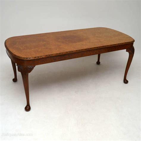 antique walnut dining table antique burr walnut dining table six chairs antiques atlas