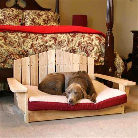 diy reclaimed wooden pallet dog bed plans pallets designs