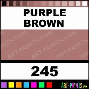 Purple Brown Soft Pastel Paints - 245