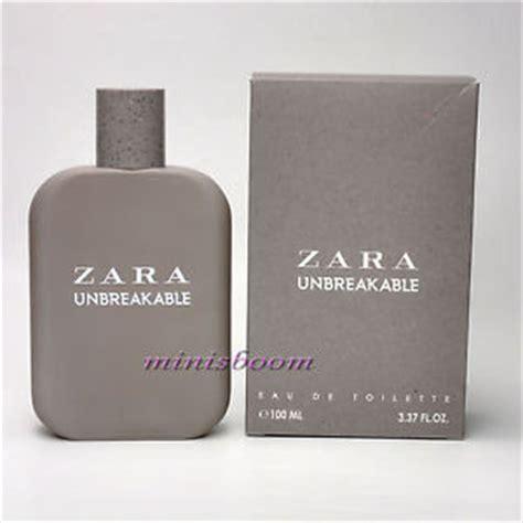 zara unbreakable eau de toilette spray for 3 3 oz 100 ml new in box ebay