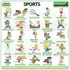 Sports In English  Woodward English