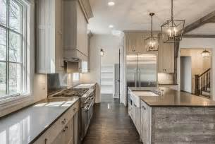 kitchen island with posts farmhouse bathrooms house of hargrove