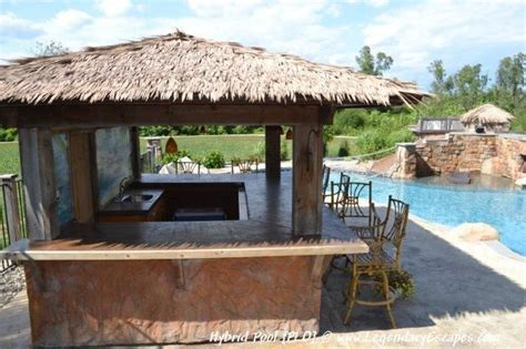 Tiki Bar Kitchen by Outdoor Tiki Hut Pool House And Outdoor Kitchen Bar Area