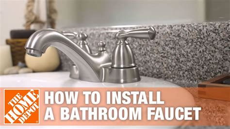 Replace Bathroom Sink Faucet by How To Install Or Replace A Bathroom Sink Faucet The